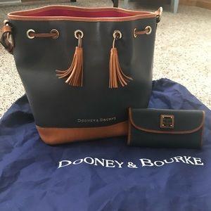 Dooney and Bourke Bucket Bag and Wallet
